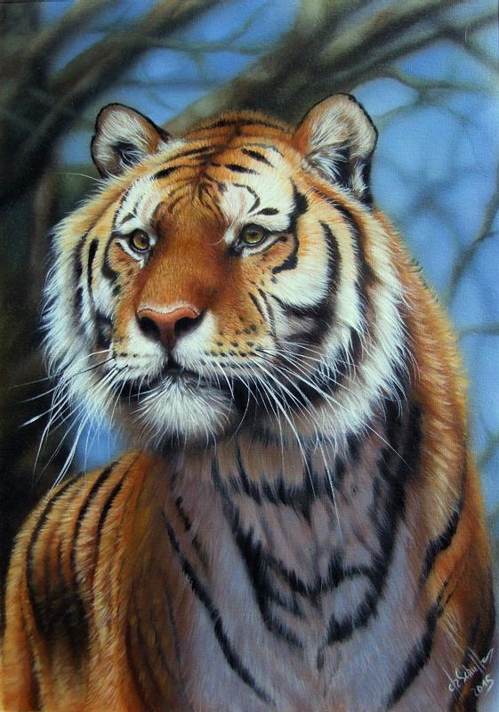 Oil Christina Schulte Fine Art