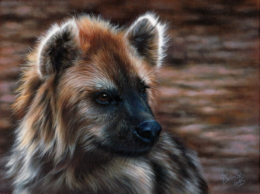 oil painting wildlife